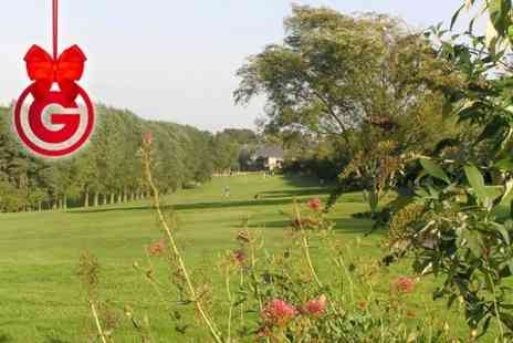 Pike Hills Golf Club - 18 Holes and 50 Range Balls For Two - Save 64%