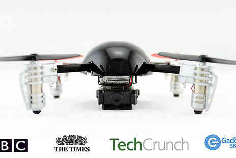 Extreme Toys - Micro Drone 2.0 with optional HD 640px Video Camera - Save 51%