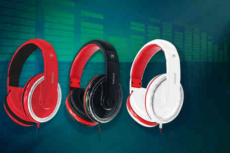 Mainspring Boutique - Pair of Nusound DJ Pro headphones - Save 57%