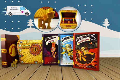Iqbooks - The Daring Do Adventure Collection including 3 books and an exclusive figurine - Save 42%