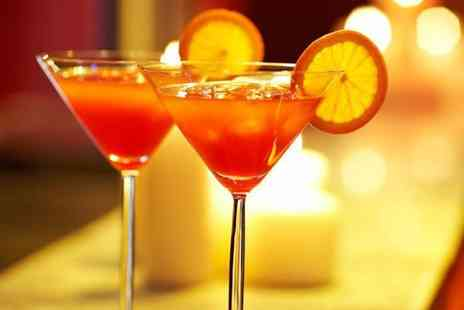 Boutique Bar - Two cocktail pitchers a bottle of bubbly and bar entry for 4  - Save 65%