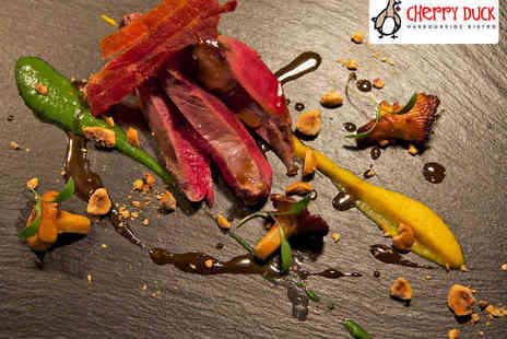 Cherry Duck - Six Course Tasting Menu for Two  - Save 51%