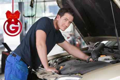 Chapmans Auto Centres - Service With Oil and Filter Change and Brake Check Plus MOT  - Save 85%