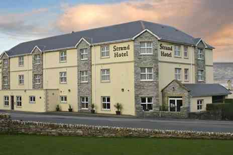 The Strand Hotel Ballyliffin - Two Nights Stay For Two With Breakfast Plus Tea and Scones - Save 48%