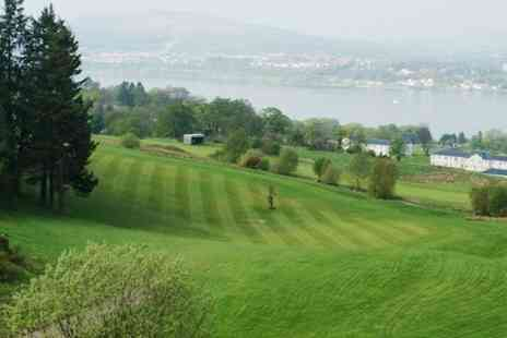 Gleddoch House Hotel - 18 Holes of Golf With Lunch For One - Save 64%