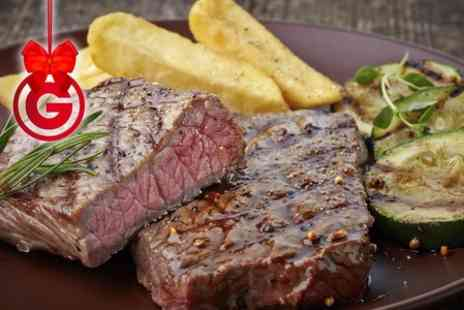 Orchard Park Hotel - Sirloin and Wine For Two - Save 50%