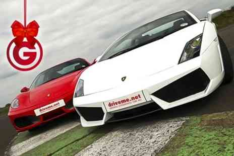 Drive Me - Six Laps of Junior Supercar Driving Plus 4x4 Ride - Save 52%