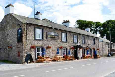The Greyhound Inn - One Night stay  For Two With Breakfast  - Save 58%