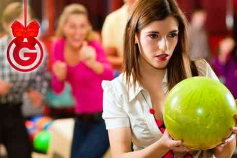 Xcel Bowl - Bowling and Pizza For Four - Save 70%