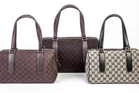 Groupon Goods Global GmbH - Gucci Designer Mini Holdall Handbag in Choice of Colour  - Save 0%