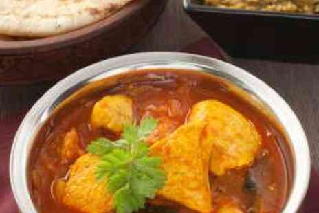 Cinnamon - Two Course Indian Meal for Two with Wine - Save 51%