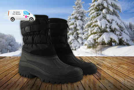 Chums - Pair of fleece lined snow boots - Save 60%