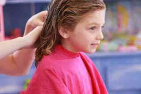 W Salon - Three Kids Haircuts and Washes - Save 60%