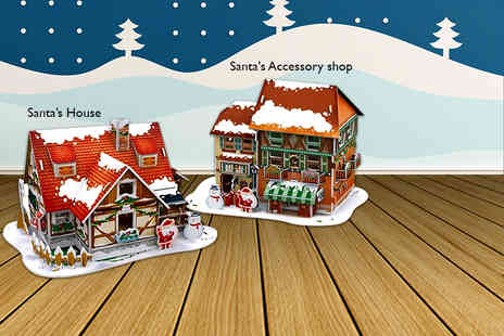 Evaniy - 3D LED Christmas puzzle - Save 65%