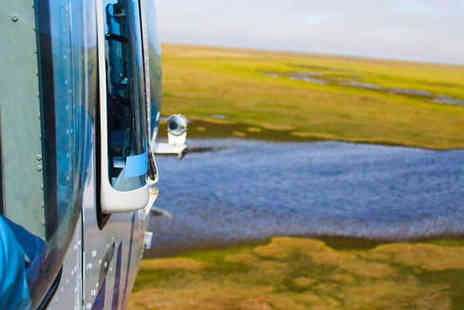 Heli Adventures - 5 or 10 Minute Cotswold or Wolverhampton Helicopter Flight  - Save 44%