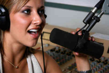 Glasgow Music Studios - One Hour Recording Singing Experience with Optional Singing Lesson - Save 64%