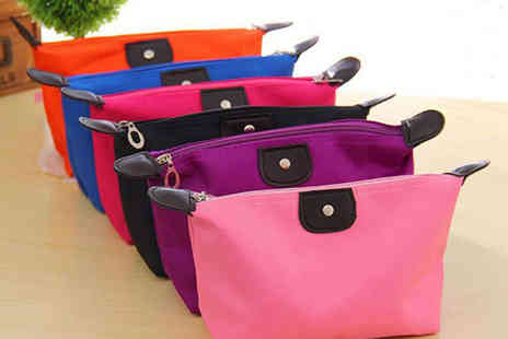 E Smart Shop - Cosmetics Bag in a Choice of Colours  - Save 75%