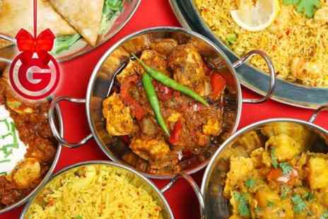 East Horsforth - Two Course Indian Meal For Two  - Save 67%