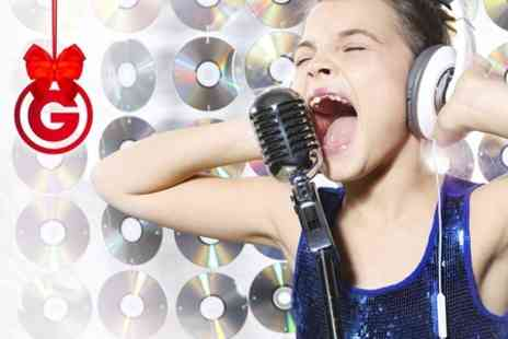 Studio Megastar - Popstar Party For 14 Children With Two Music Video Shoots and DVD - Save 84%