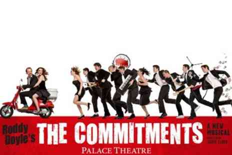 Encore Tickets - Tickets  to The Commitments at The Palace Theatre With Hotel Stay  - Save 0%