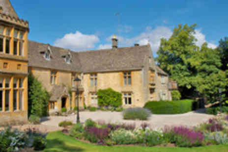 Lords of The Manor - Boutique Cotswolds Break with Michelin Starred Dining for Two - Save 49%