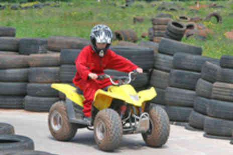 Hamburger Hill - Action Packed Kids Quad Biking Experience - Save 53%