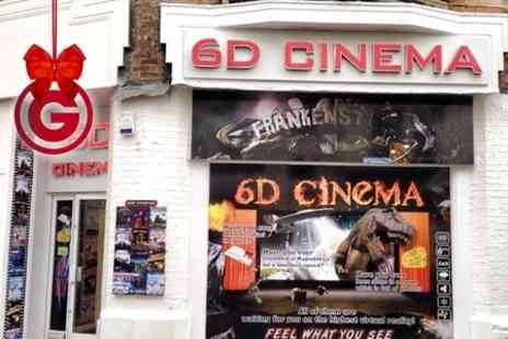 6D Cinema Bournemouth - 6D Cinema Choice of Two Films For Two - Save 50%