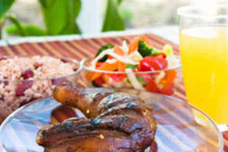 Carib Grill - Three course Caribbean meal, plus a rum punch, side salad - Save 61%