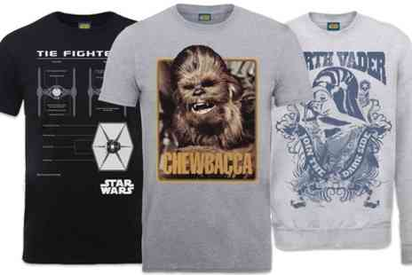 Printed Wardrobe - Star Wars Tees and Sweatshirts - Save 45%