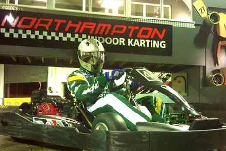 Northampton Indoor Karting - 60 Laps Plus Membership - Save 65%
