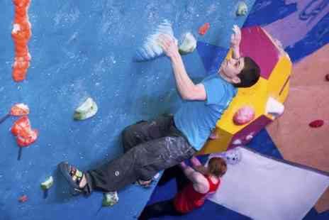 The Climbing Academy - Indoor Climbing Induction or One Month Pass - Save 68%