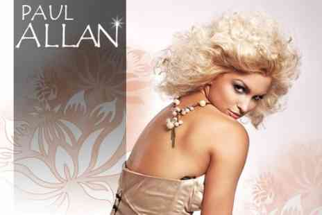 Paul Allan Hairdressing - Full T Bar of Foils, Conditioning Treatment, Cut and Blow Dry for £34 - Save 60%