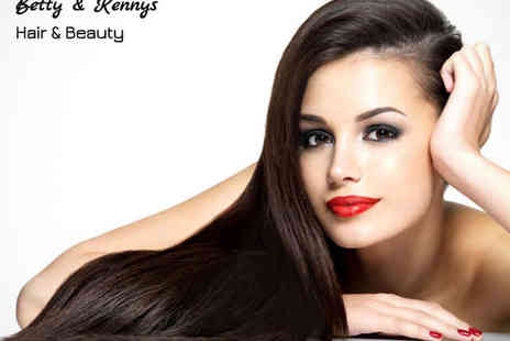 Betty & Kennys - Haircut and Blow Dry with a Half Head of Highlights - Save 54%
