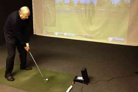 AS Golf Academy - One Hour Golf Simulator Experience For Four  - Save 0%