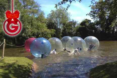 Pump It Up Events - Winter Water Zorbing Experience  - Save 50%