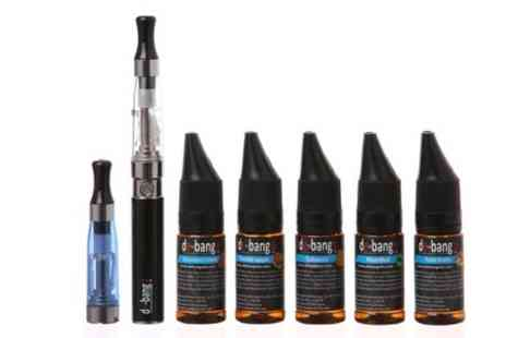 SPOT PROMOTIONS - De bang eGo CE Starter Kit and Five E Liquids  - Save 67%