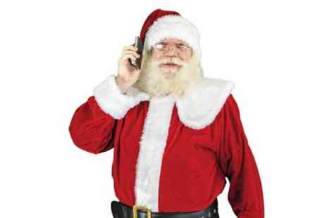 Santa Letters Direct - Personalised Santa Phone Call  - Save 50%