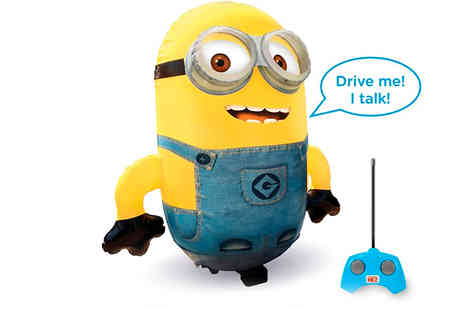 Cool Toyz - Despicable Me Remote Controlled Talking Minion - Save 47%