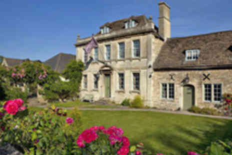 The Old Manor Hotel - Wiltshire Manor Stay with Five Course Tasting Menu - Save 52%
