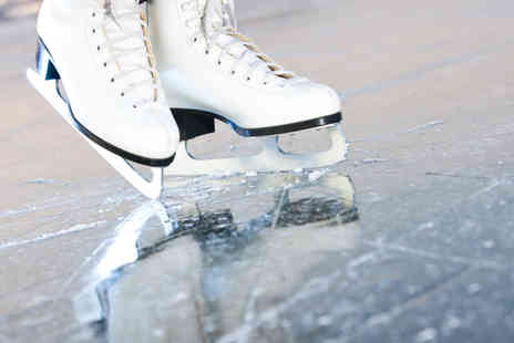Fylde Coast Ice Arena - Two hours of ice skating and hot chocolate for Two - Save 50%