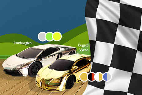 Toys Warehouse - Remote control sports car in a choice of 4 models including Audi R8, Ferrari and Lamborghini - Save 75%