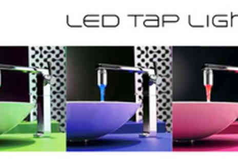 Gift Me Something Special - One LED Tap Light: Colourful Water From Your Tap - Save 61%