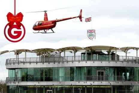 Heli Air - Helicopter Buzz Flight over Silverstone Circuit - Save 0%