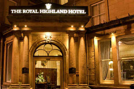 Royal Highland Hotel - Escape to the Highlands for two  - Save 51%