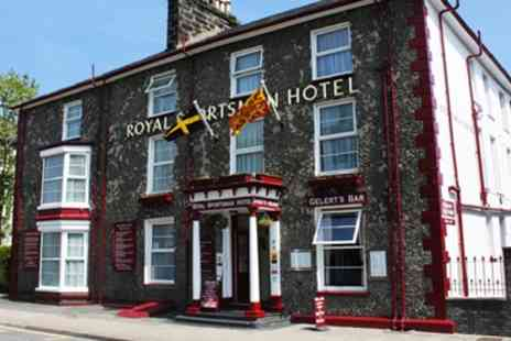 The Royal Sportsman Hotel - Overnight stay Welsh Escape inc Cream Tea & 2 AA Rosette Dinner - Save 42%