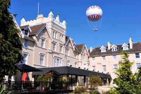 The Royal Exeter Hotel -  Bournemouth Victorian Mansion Stay with Dinner - Save 60%