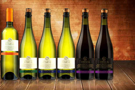 Dionysius Shop - Six red or mixed bottles of sparkling wine  inccluding delivery - Save 50%
