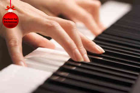 The Music Study - 45 minute piano lessons - Save 83%