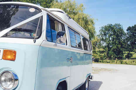 Chase The Sun - Three night midweek or weekend retro VW camper van hire  - Save 62%