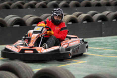 F1K Indoor Karting - Exhilarating 50 Lap Indoor Go Karting Experience - Save 52%